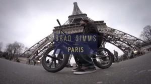 Brad Simms en Paris