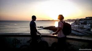 Ronnie Napolitan y Dennis Enarson en Portugal